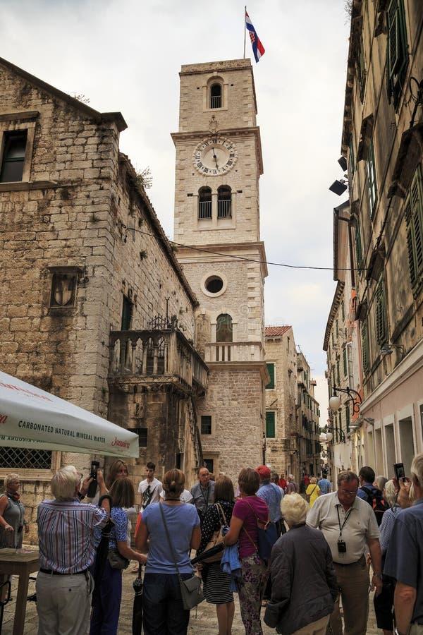 Iglesia de St John, Sibenik, Croacia fotos de archivo