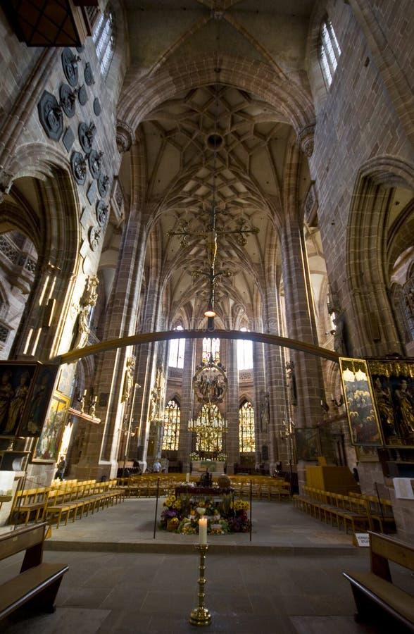 Iglesia de St.Lorenz foto de archivo