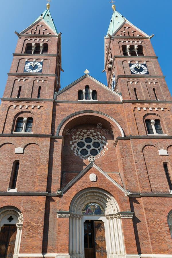 Iglesia de St Mary en Maribor, Eslovenia foto de archivo libre de regalías