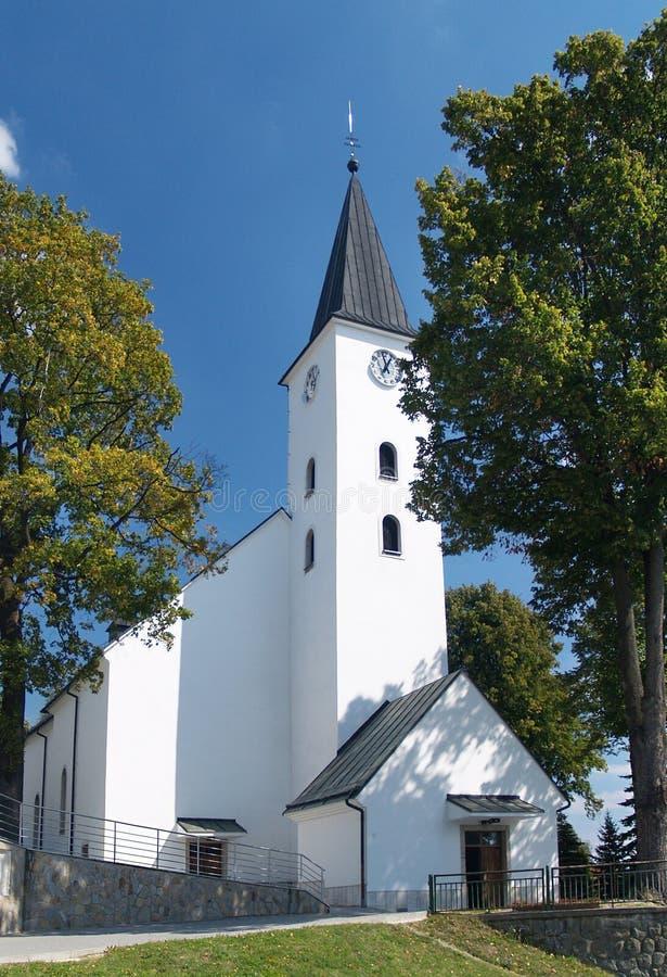 Iglesia de St Simon y de Jude en Namestovo fotos de archivo