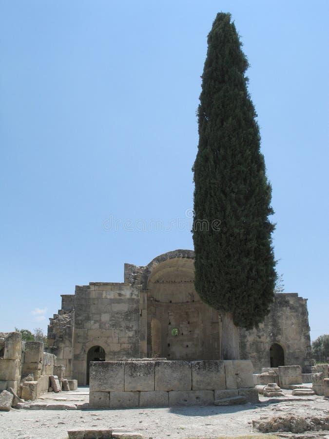 Iglesia de St. Titus en Gortys imágenes de archivo libres de regalías