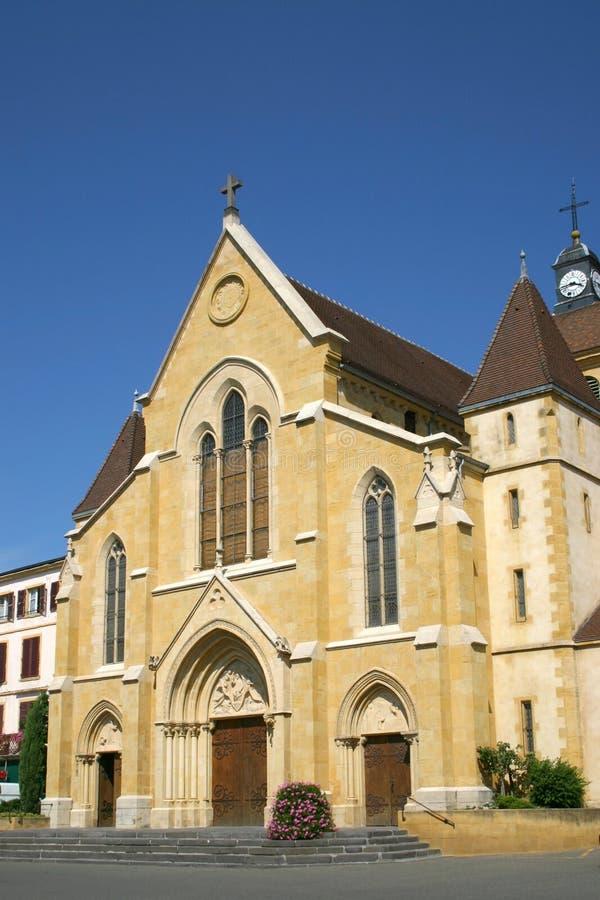 Iglesia de Suiza imagen de archivo libre de regalías