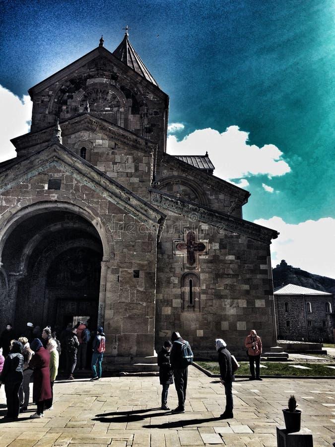 Iglesia de Svetitskhoveli imagen de archivo