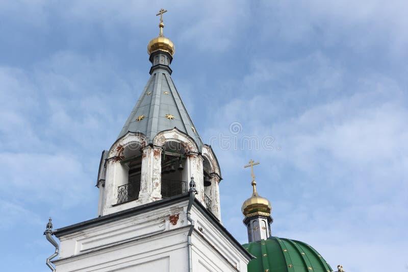 Iglesia de todos los santos, ciudad de Kungur, Rusia imagen de archivo