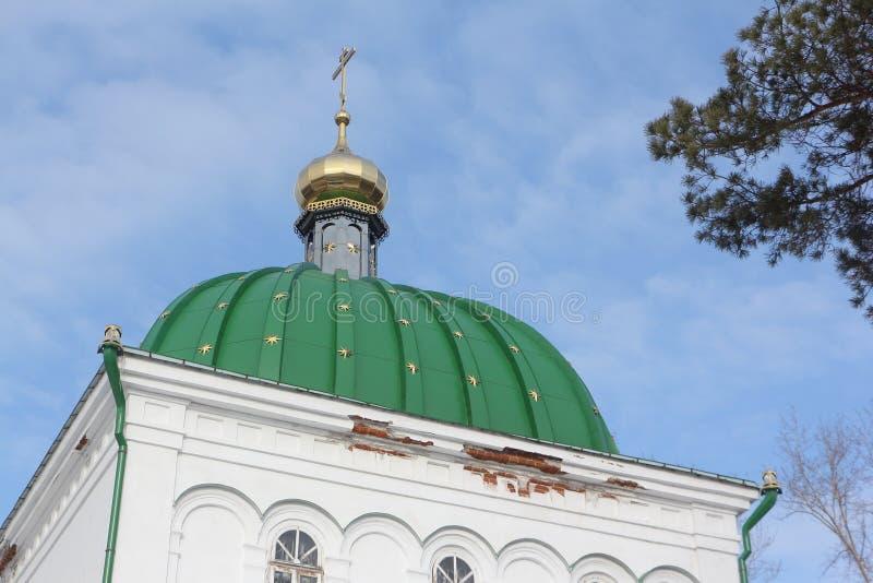 Iglesia de todos los santos, ciudad de Kungur, Rusia imágenes de archivo libres de regalías