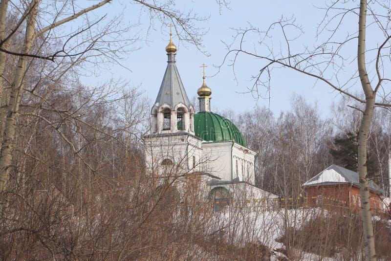 Iglesia de todos los santos, ciudad de Kungur, Rusia imagen de archivo libre de regalías