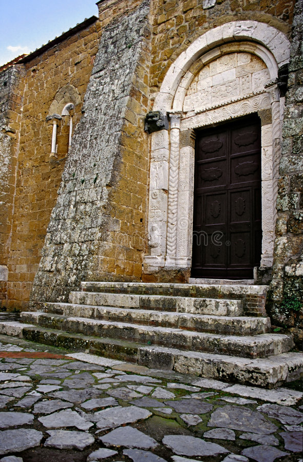 Iglesia de Toscana foto de archivo libre de regalías