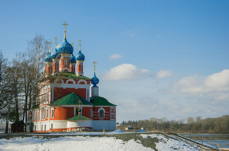 Iglesia de Tsarevich Dmitry imágenes de archivo libres de regalías