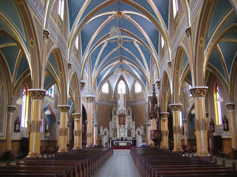 Iglesia de Ubate imagen de archivo libre de regalías
