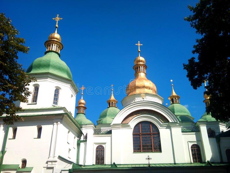 Iglesia de Ucrania Sophia Cathedral fotografía de archivo