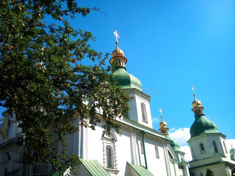 Iglesia de Ucrania Sophia Cathedral fotografía de archivo libre de regalías