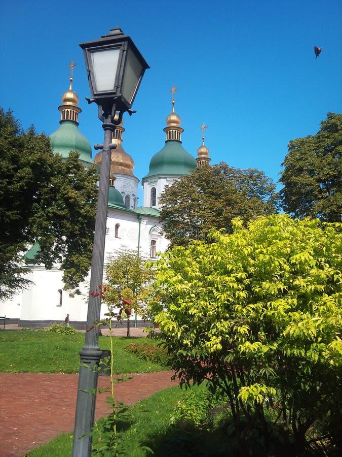 Iglesia de Ucrania Sophia Cathedral imagen de archivo