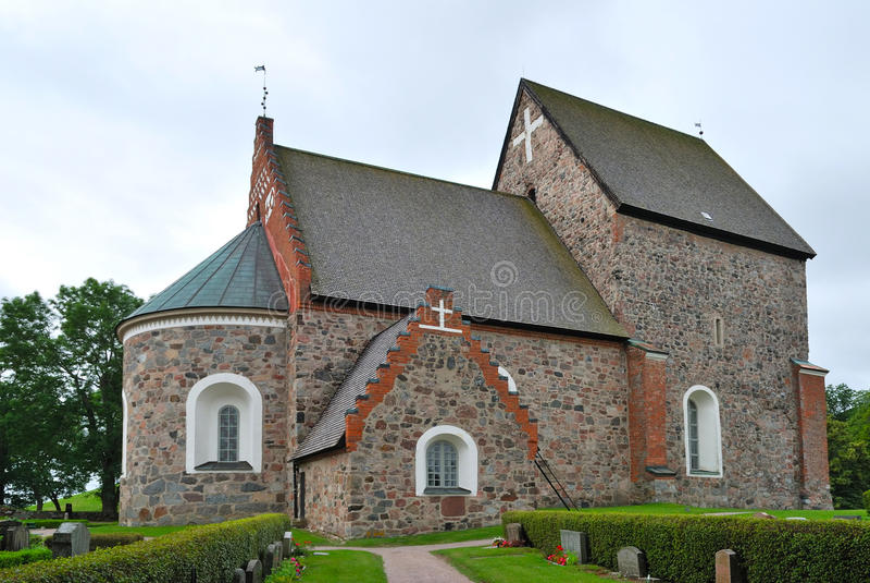 Iglesia de Uppsala vieja fotos de archivo