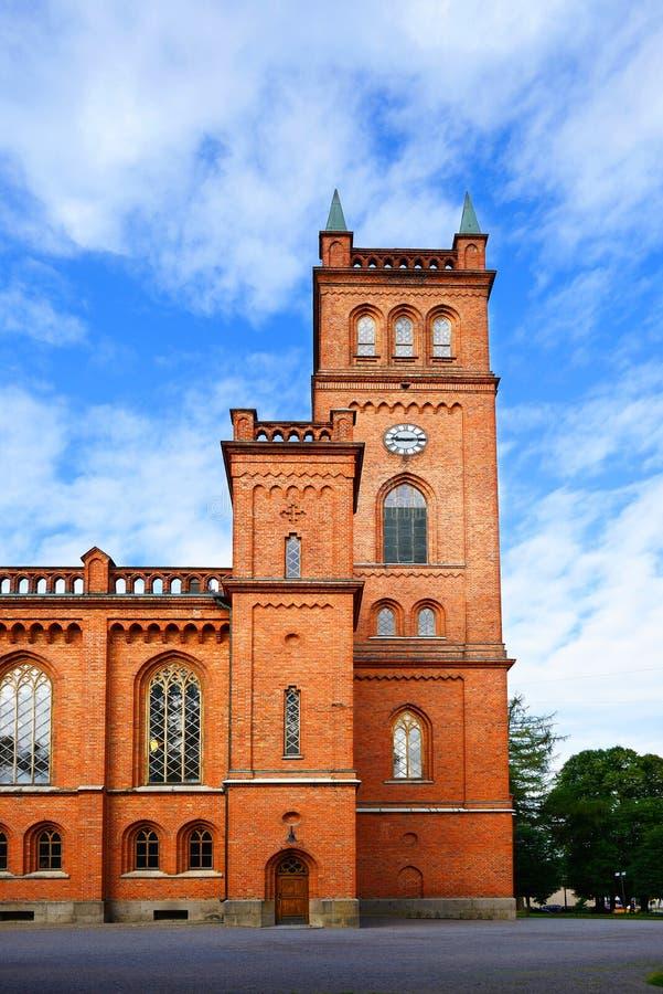 Iglesia de Vaasa fotografía de archivo libre de regalías