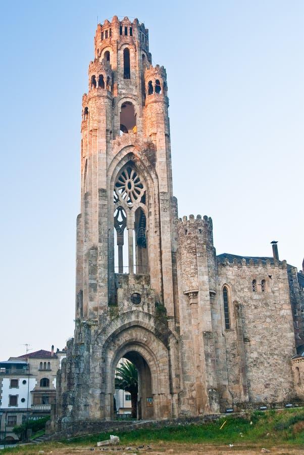 Iglesia de Veracruz foto de archivo