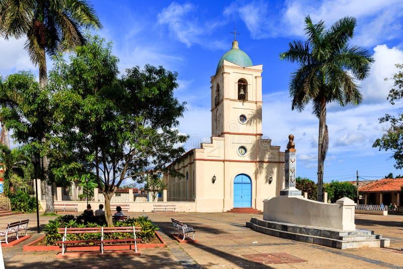 Iglesia de Vinales en Vinales imagen de archivo libre de regalías