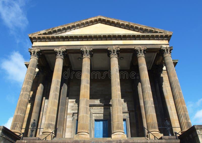 Iglesia de Wellington, Glasgow imagen de archivo
