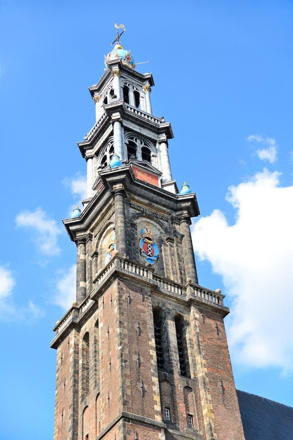 Download Iglesia de Westerkerk foto de archivo. Imagen de turismo - 44850910