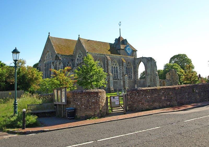 Iglesia de Winchelsea foto de archivo libre de regalías