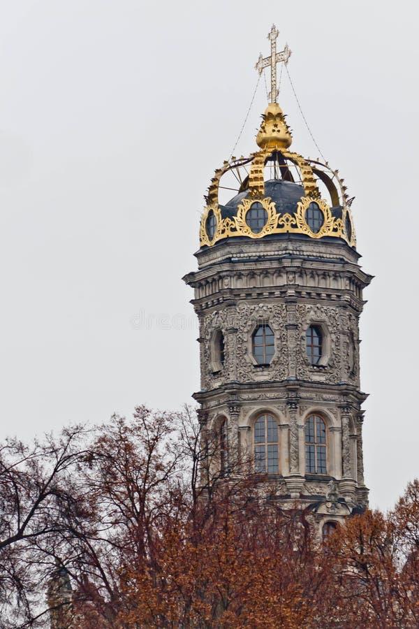 Iglesia de Znamenskaya imágenes de archivo libres de regalías