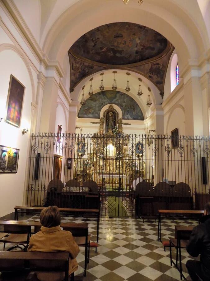 Iglesia del卡门阿尔阿马德格拉纳达 免版税库存图片