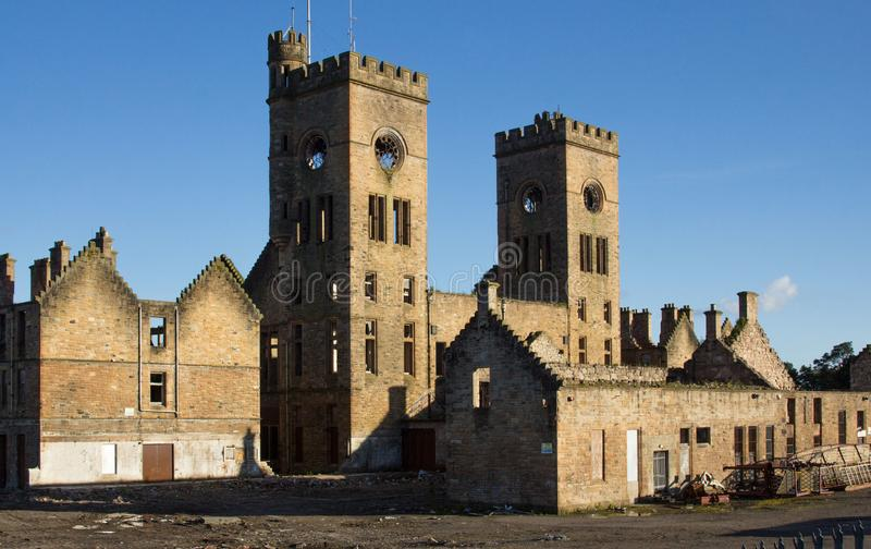 Iglesia del asilo del hospital de Hartwood, Lanarkshire, Escocia fotos de archivo libres de regalías