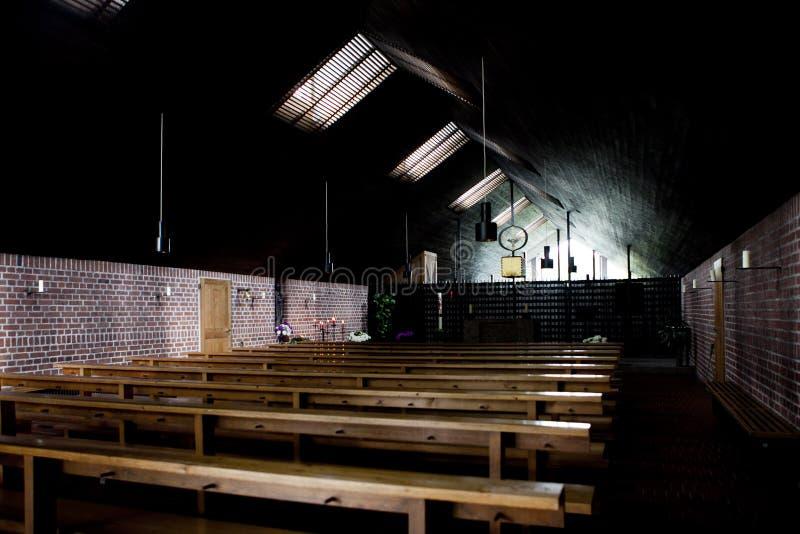 Iglesia del campo de concentración de Dachau fotografía de archivo libre de regalías