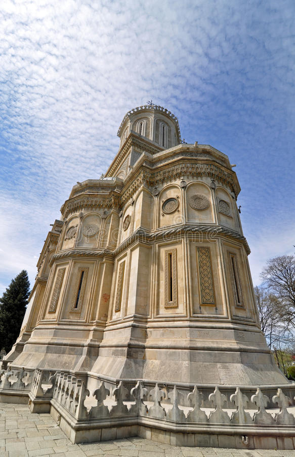 Iglesia del cielo fotografía de archivo libre de regalías