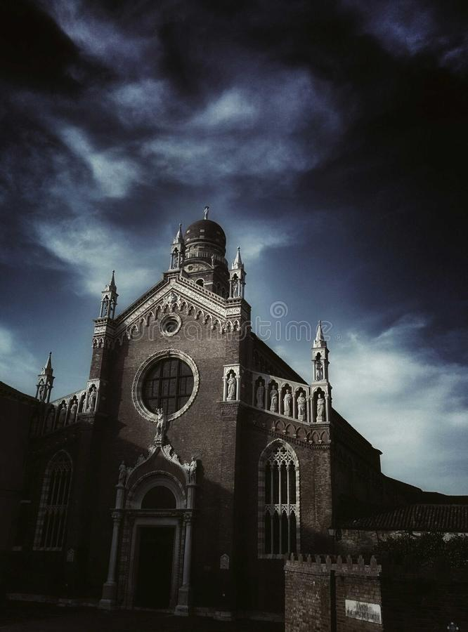Iglesia del dell'orto de Madonna en Venecia fotos de archivo libres de regalías