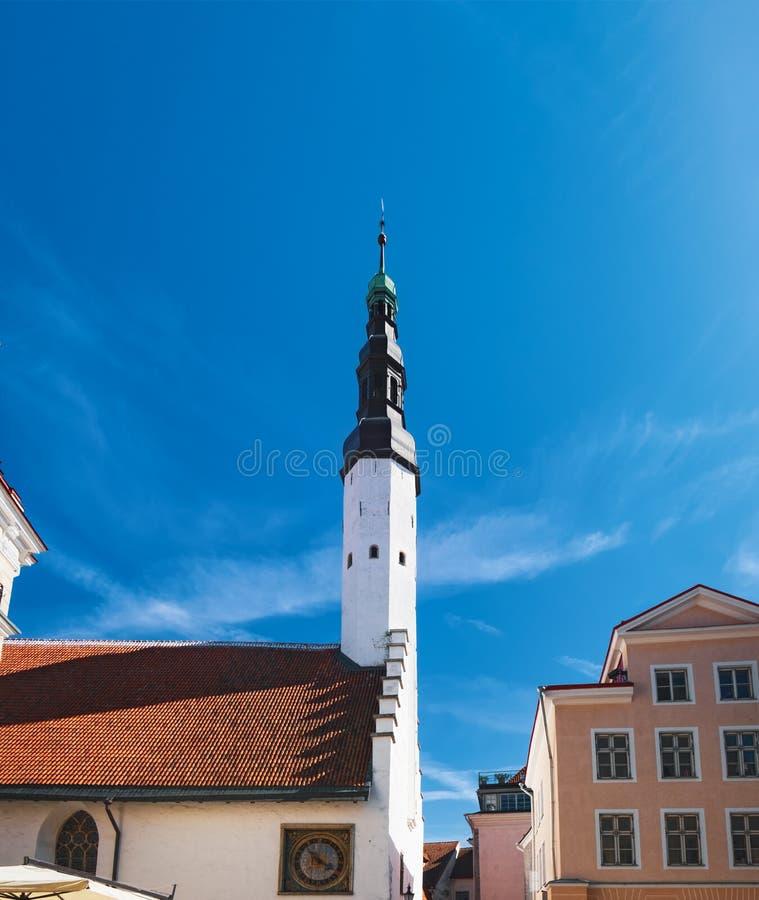 Iglesia del Espíritu Santo en Tallinn, Estonia fotos de archivo libres de regalías