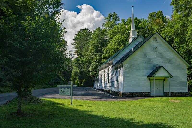 Iglesia del Evangelio de Jennings Creek fotografía de archivo