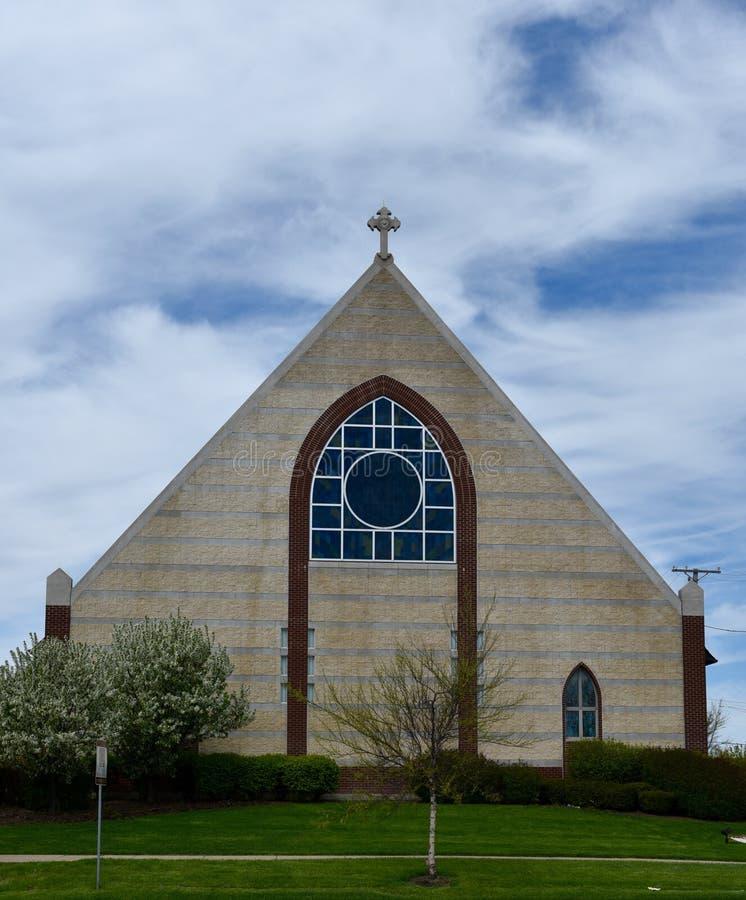 Iglesia del lombardo imagen de archivo