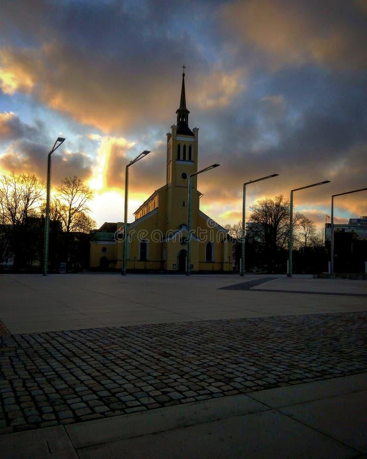 Iglesia del misterio imagenes de archivo