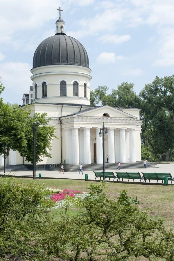 Iglesia del Moldavia - Chisinau fotos de archivo
