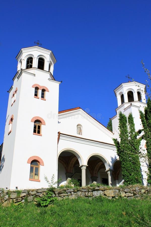 Iglesia del monasterio de Klisurski imágenes de archivo libres de regalías