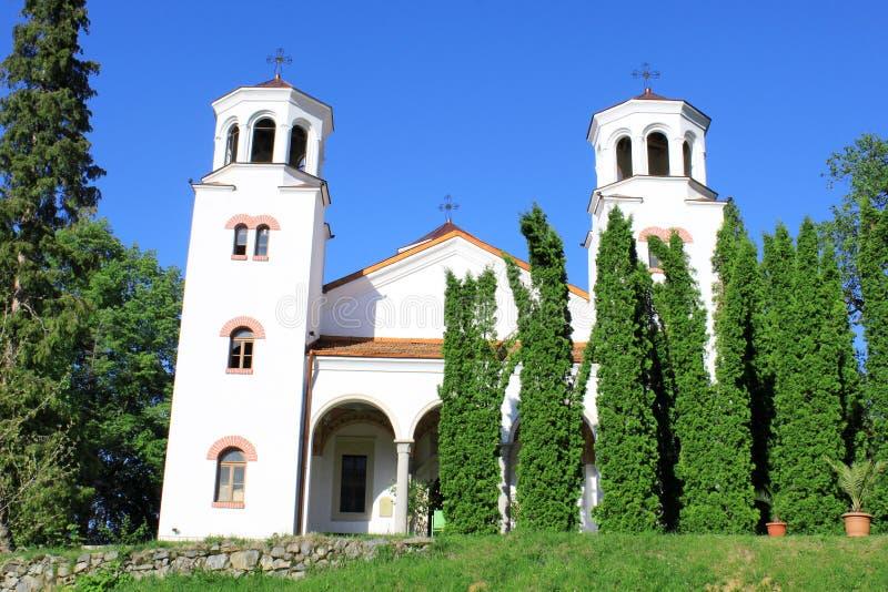 Iglesia del monasterio de Klisurski imagen de archivo libre de regalías