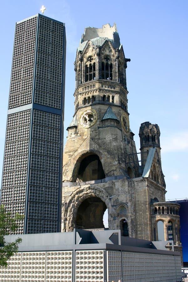 Iglesia del monumento del Emp Guillermo foto de archivo libre de regalías