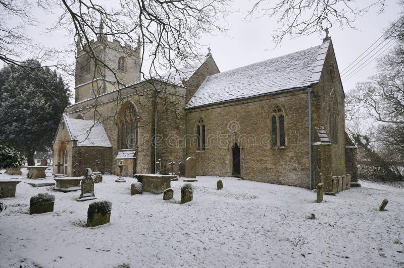 Iglesia del normando del St. Marys imagen de archivo libre de regalías