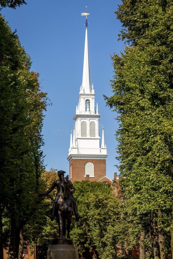 Iglesia del norte fotografía de archivo