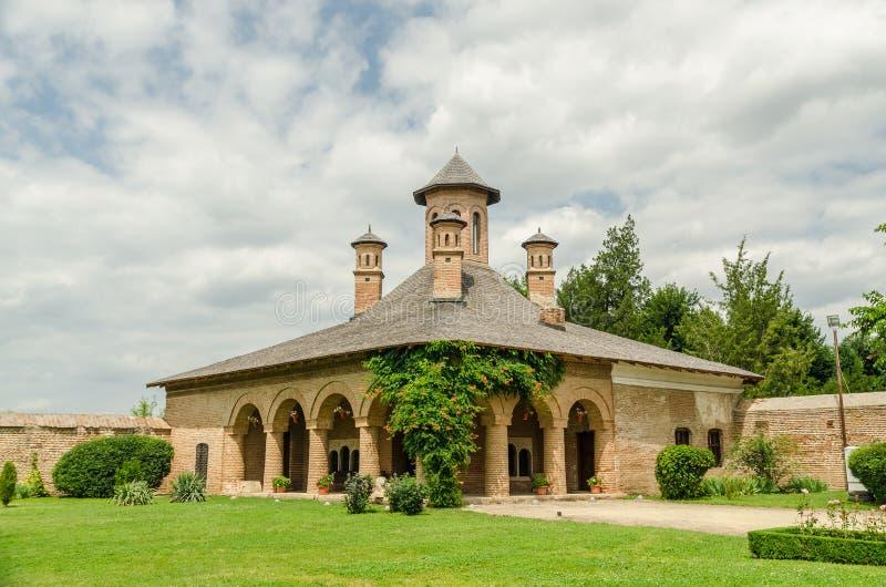 Iglesia del palacio de Mogosoaia fotografía de archivo
