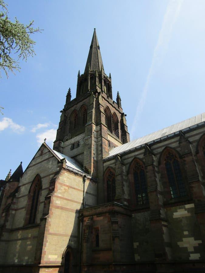 Iglesia del parque de Clumber imagenes de archivo