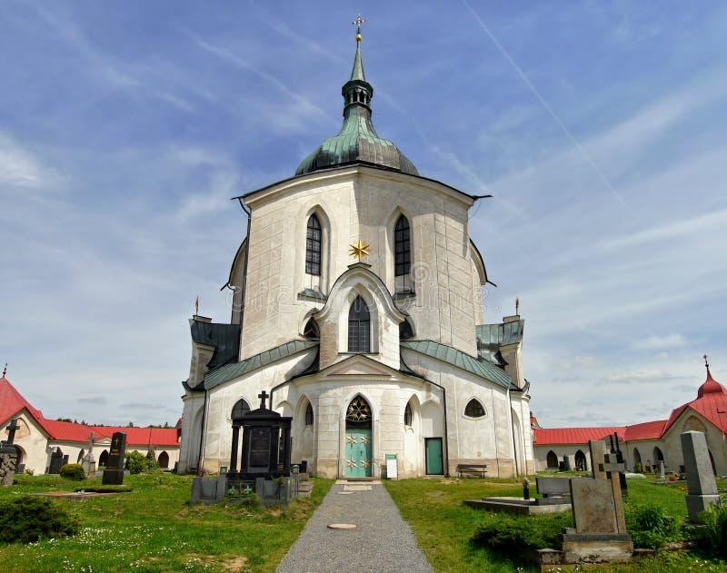 Iglesia del peregrinaje fotografía de archivo