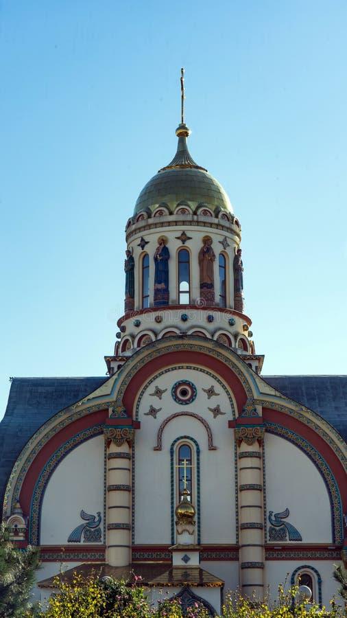 Iglesia del príncipe apostólico santo Vladimir en Sochi, Rusia fotografía de archivo libre de regalías