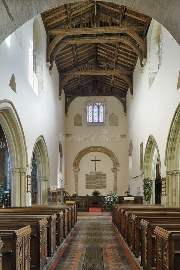 Iglesia del priorato de St Mary fotos de archivo libres de regalías