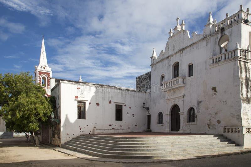 Iglesia del rdia del ³ de Mesericà - isla de Mozambique fotografía de archivo libre de regalías