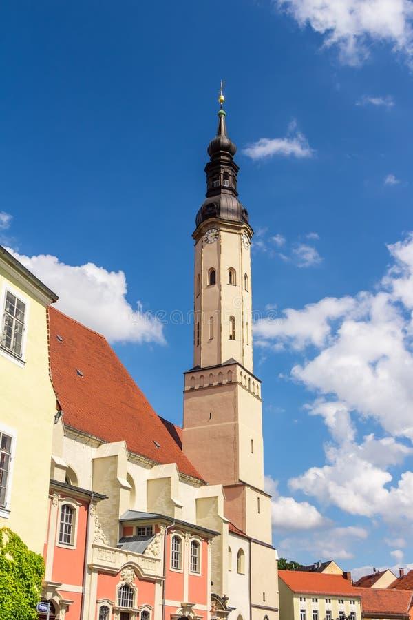 Iglesia del ` s de San Pedro y de San Pablo en Zittau imagen de archivo libre de regalías