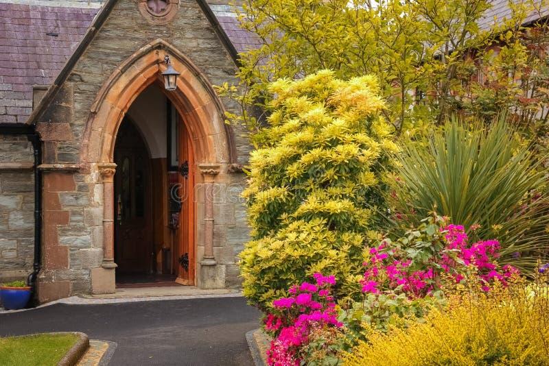 Iglesia del ` s de St Augustine Derry Londonderry Irlanda del Norte Reino Unido foto de archivo
