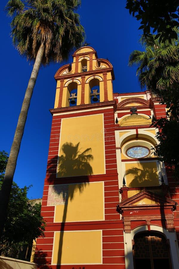 Iglesia Del Sagrio, Histiric-Gebäude, Màlaga, Spanien stockbild
