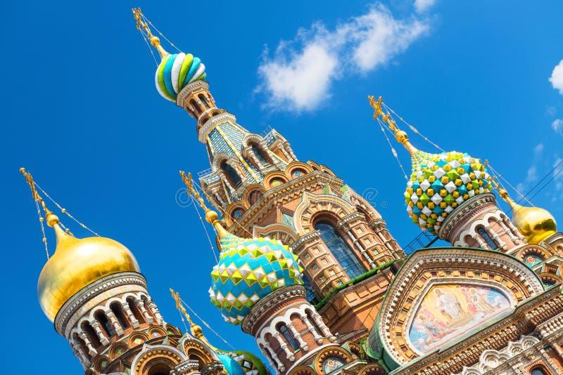 Download Iglesia Del Salvador En Sangre Derramada En St Petersburg, Rusia Imagen de archivo - Imagen de azul, edificio: 41911655