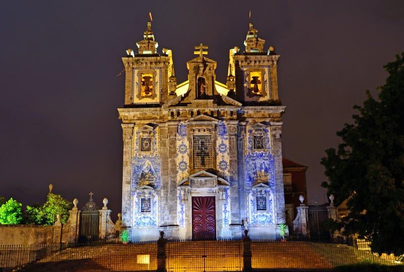 Iglesia del santo Ildefonso imágenes de archivo libres de regalías